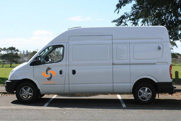 Van with logo 2